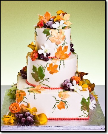 fall themed wedding cakes best of cake best of cake fall themed wedding cakes 362x450
