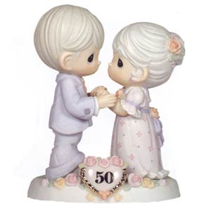 50th Anniversary Cake Toppers Precious Moments