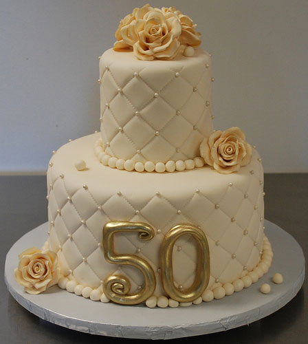 Cake Design Anniversary : 50th Wedding Anniversary Cakes