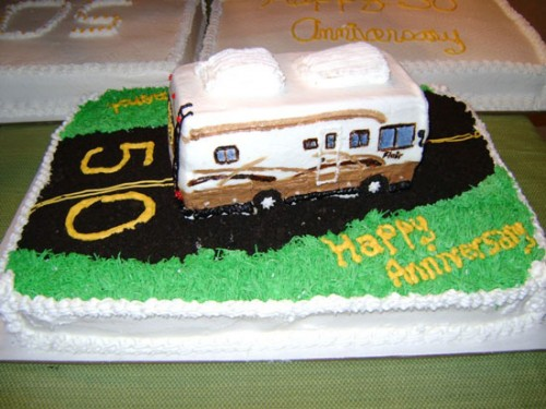 50th Wedding Anniversary Sheet Cakes Ideas