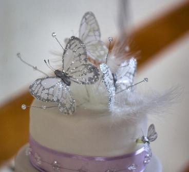 Cake Decoration Butterfly : Butterfly Wedding Cakes