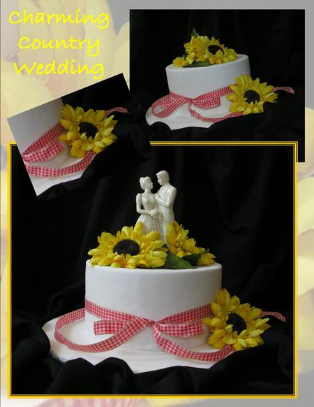 Country Wedding Cakes Design