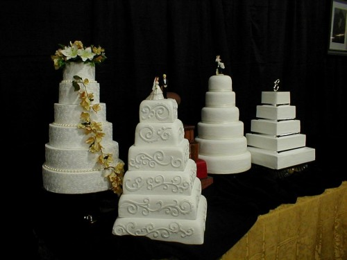 Fake Wedding Cakes Rental