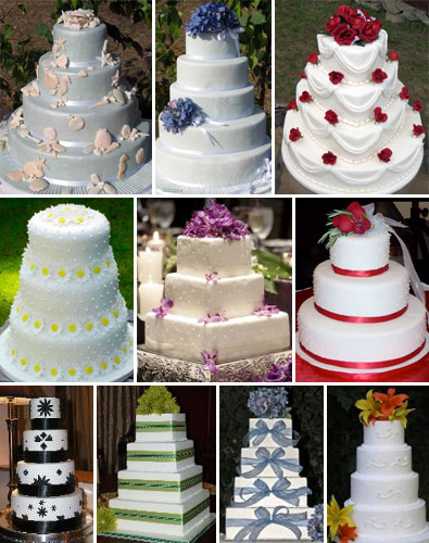 Fake Wedding Cakes
