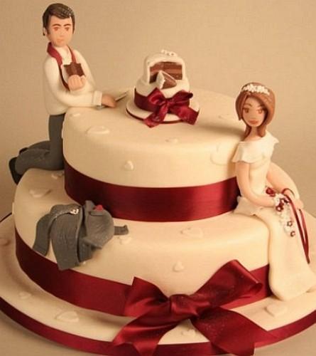 Funny Wedding Cakes Design