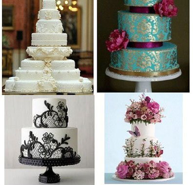 How To Get Ideas Wedding Cakes For 2012