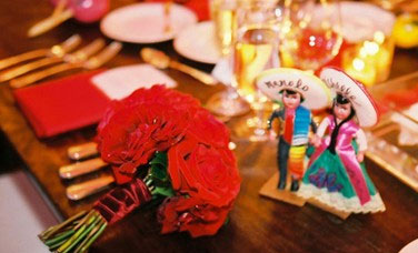 Mexican Wedding Cake Toppers