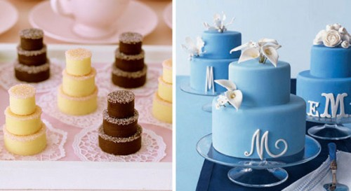 Mini Wedding Cakes Atlanta