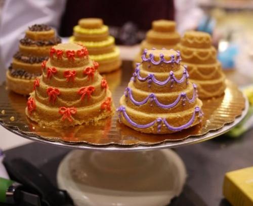 Mini Wedding Cakes Nyc
