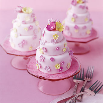Mini Wedding Cakes Photos