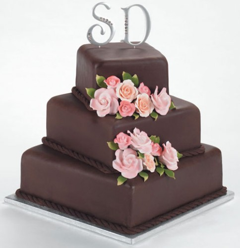 Modern Wedding Cakes and Chocolates