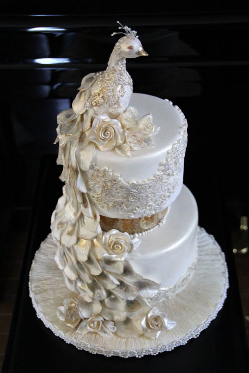 Great Peacock Wedding Cake 500 x 750 · 62 kB · jpeg
