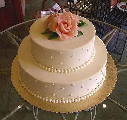 Cake Design Ideas Simple : Simple Wedding Cakes