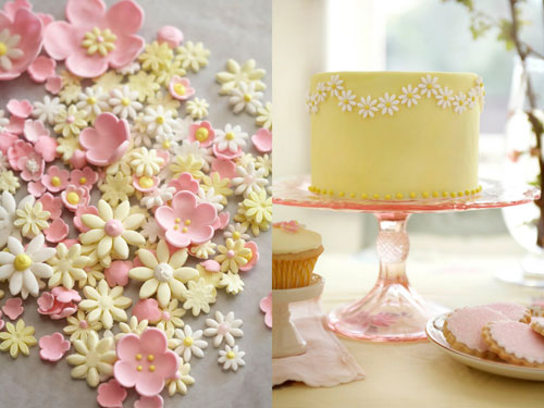Sugar Flowers for Wedding Cakes