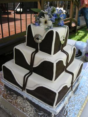 Western Wedding Cakes Photos