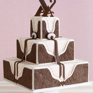 Western Wedding Cakes Pictures