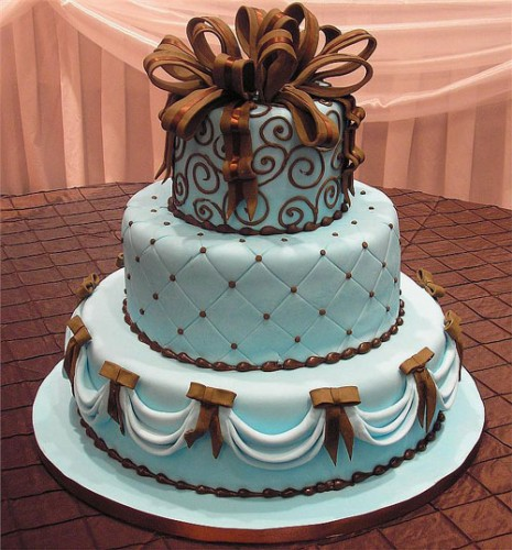 Blue Wedding Cake Ideas : Blue wedding cakes best of cake