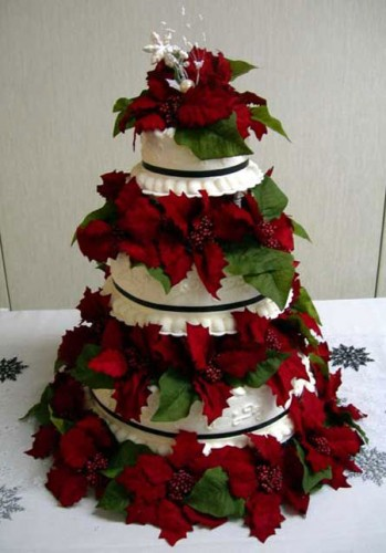 Christmas Wedding Cakes Best Of Cake