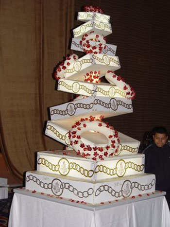 Extravagant Wedding Cakes Pictures