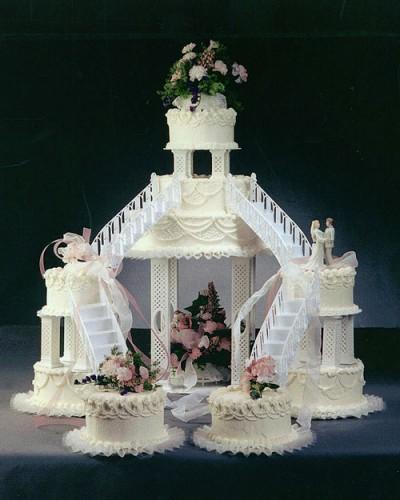 Fountain Wedding Cakes Designs