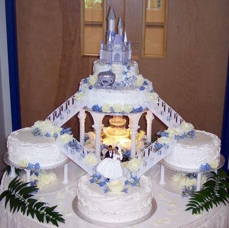 Fountain Wedding Cakes Ideas