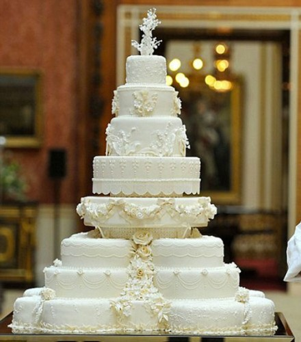 Most Extravagant Wedding Cakes