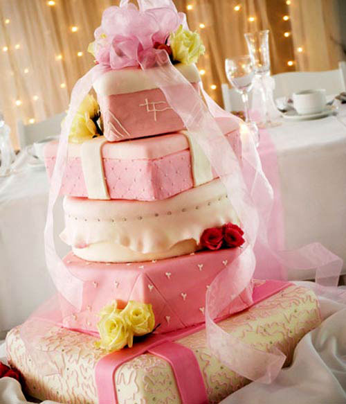 Wedding cake toppers with baker s cakes 50th wedding anniversary cake - Pink Wedding Cakes Best Of Cake