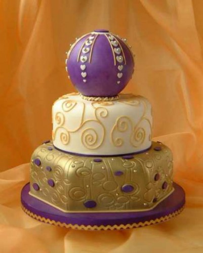 spring purple wedding cakes sOkNDT7l