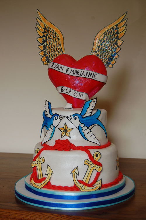 Tattoo Wedding Cakes
