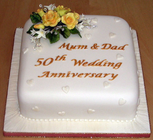 Wedding Anniversary Cake Design Ideas : Wedding Anniversary Cakes Ideas