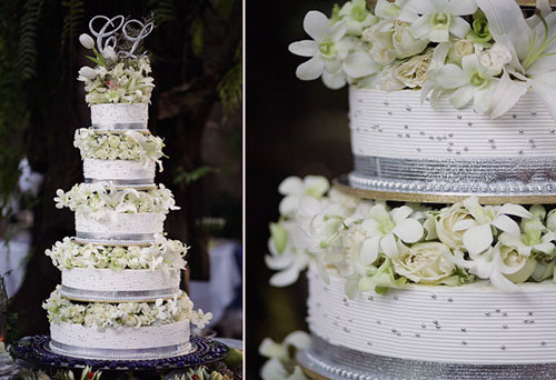 Wedding Cake With Flowers Best Of Cake