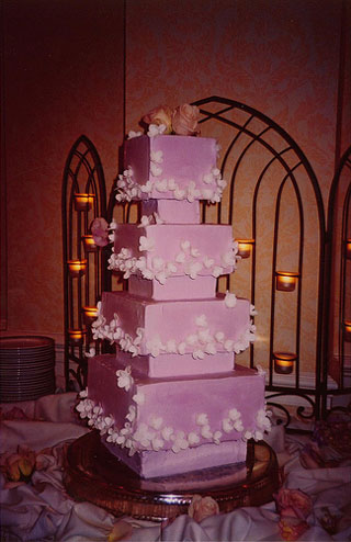 Big Pink Wedding Cakes