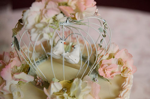 Birdcage Wedding Cake Topper