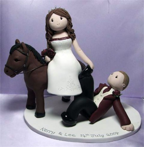 Horse Cake Toppers Wedding Cakes