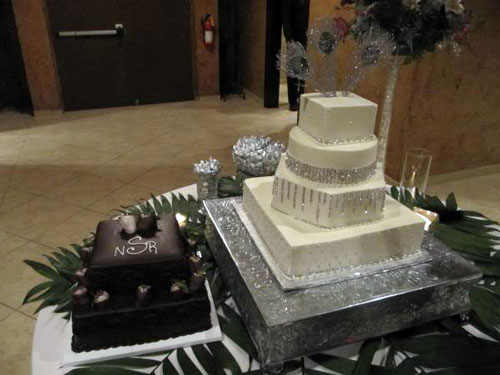 Rhinestones Wedding Cakes