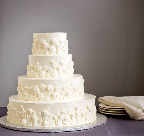 Rosette Wedding Cakes Pictures