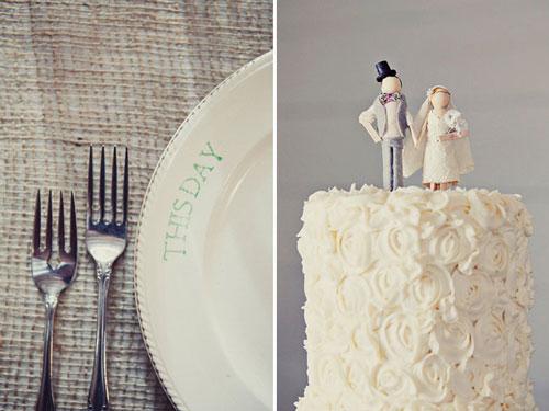 Rosette Wedding Cakes
