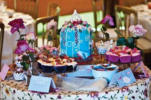 Wedding Cake Ideas 2013 Purple