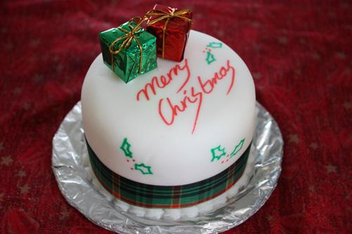 Christmas Cake Design Boxing Day