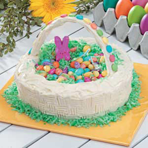 Easter Basket Cake Decorating Ideas : Easter Cake Design and How to Decorate It