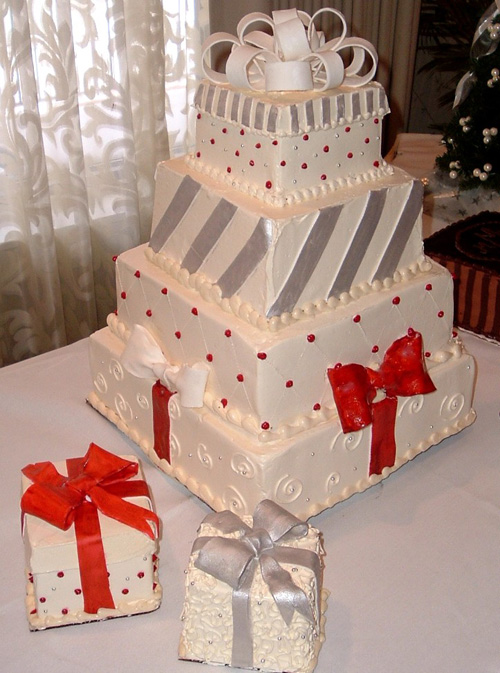 Wedding Cakes Christmas Ideas