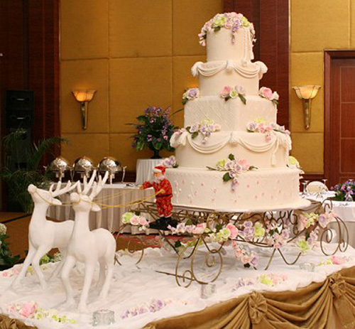Wedding Cakes Christmas White