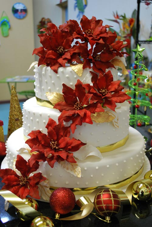 Wedding Cakes Christmas