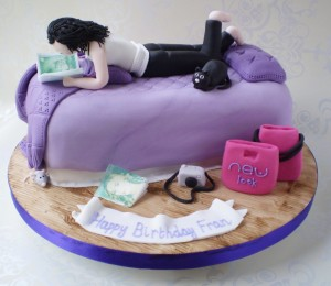 Bedroom Style Birthday Cakes for Teenagers
