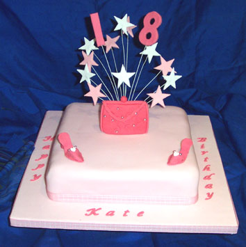 Birthday Cake For Girls With Stunning Trims