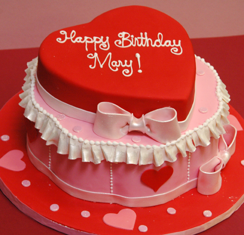 Birthday Cake on Valentine Day Ideas
