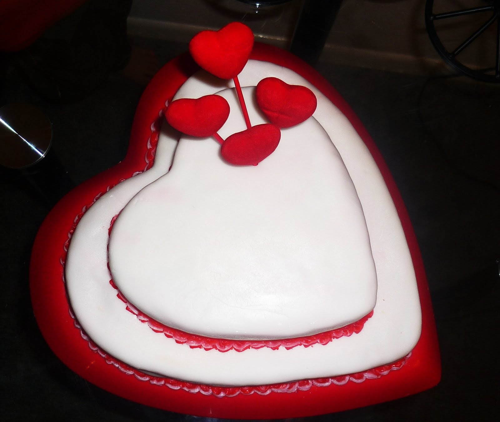 Birthday Cake on Valentine Day