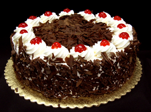 Black Forest Cake Design