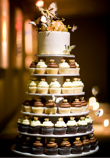 Cupcake Towers Design