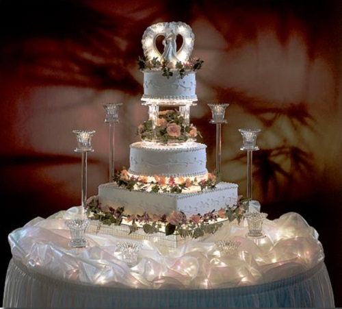 Elegant Creative Wedding Cake
